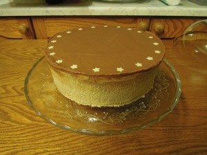 Chocolate and chestnut cake - 11/11/2012